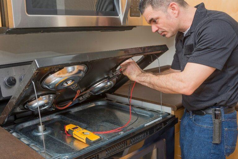 stove repair, range repair, Sparks In The Electrical Range