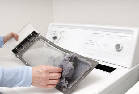 Remove Lint From the Dryer, Dryer lint, American appliance repair, remove dryer lint from dryer