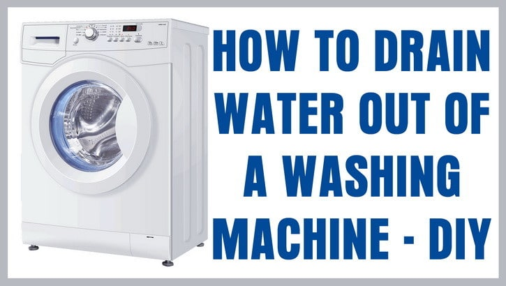 Manually Drain Water From a Kenmore Washing Machine