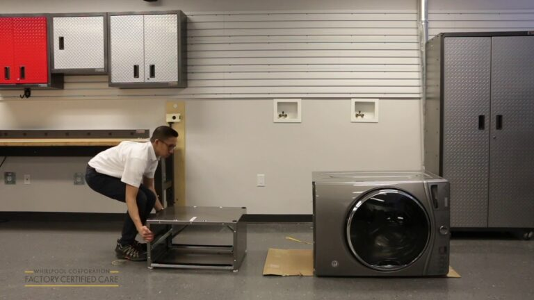 How to Remove the Storage Drawer From a Pedestal Whirlpool Duet